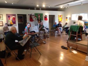 Life Drawing - Short/Long Poses (Clothed Model) @ Del Ray Artisans gallery | Alexandria | Virginia | United States
