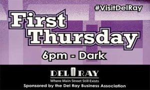 First Thursday (Rescheduled to 4/13)