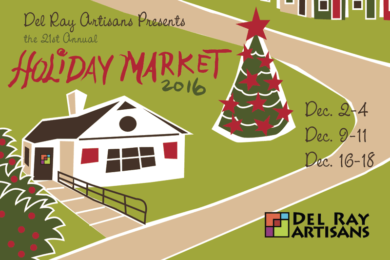 Holiday Market 2016 @ Del Ray Artisans Gallery | Alexandria | Virginia | United States