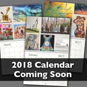 Del Ray Artisans' 2018 Wall Calendar Call for Entry Deadline