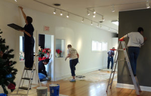 Paint the Gallery (prep day) @ Del Ray Artisans Gallery | Alexandria | Virginia | United States