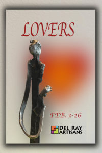 """Lovers"" Artwork Pick Up @ Del Ray Artisans Gallery 