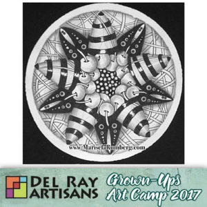Discover Your Inner Artist - Introduction to Zentangle® @ Del Ray Artisans | Alexandria | Virginia | United States