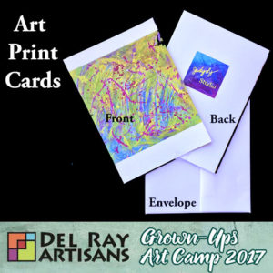 Art Print Cards by Judy Lynn