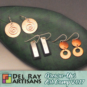 Mixed Metal Earrings - Earrings-A-Polooza! @ Del Ray Artisans | Alexandria | Virginia | United States