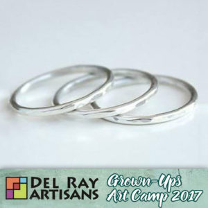 Sterling Silver Stacking Rings @ Del Ray Artisans | Alexandria | Virginia | United States