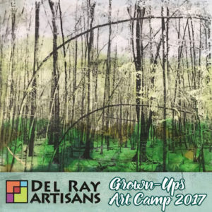 Acrylic Techniques with Collage @ Del Ray Artisans | Alexandria | Virginia | United States