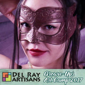 Leather Mask Making @ Del Ray Artisans | Alexandria | Virginia | United States