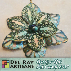 Painted Metal Filigree with Polymer Inlay (Cancelled) @ Del Ray Artisans | Alexandria | Virginia | United States