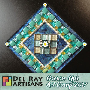 Patterned Mosaics Without Using Grout @ Del Ray Artisans | Alexandria | Virginia | United States
