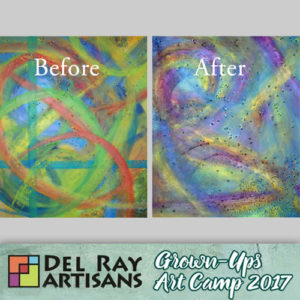 Reimagining Abstract Paintings (Cancelled) @ Del Ray Artisans | Alexandria | Virginia | United States