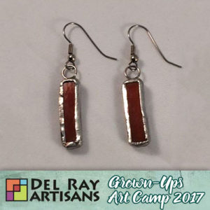 Stained Glass Earrings @ Del Ray Artisans | Alexandria | Virginia | United States