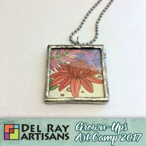 Stained Glass Pendant - Time Change - 10am-1pm @ Del Ray Artisans | Alexandria | Virginia | United States