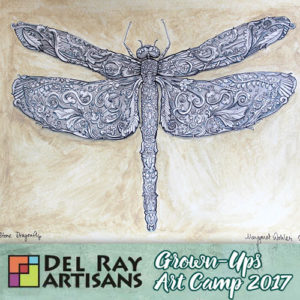 Drawing Intricate Insects @ Del Ray Artisans | Alexandria | Virginia | United States