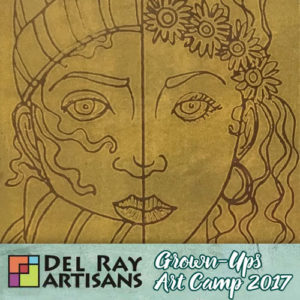 Easy-Peasy Relief Printmaking @ Del Ray Artisans | Alexandria | Virginia | United States