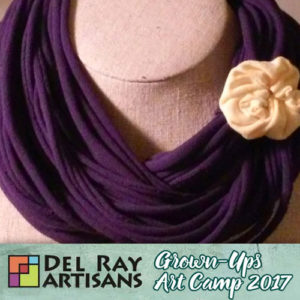 Upcycle & Design a Fabric Necklace (Cancelled) @ Del Ray Artisans | Alexandria | Virginia | United States