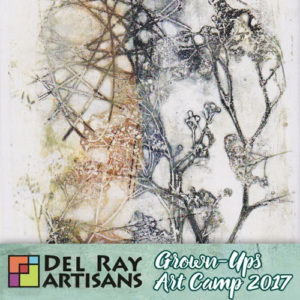 Exploring Mono Printing with Gelli Arts Plate (Class Full) @ Del Ray Artisans | Alexandria | Virginia | United States