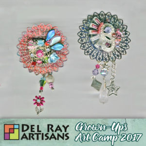 Creating Pins & Pendants (using broken jewelry & other media) @ Del Ray Artisans | Alexandria | Virginia | United States