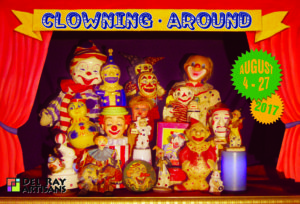 """Clowning Around"" Artwork Pick Up @ Del Ray Artisans Gallery 