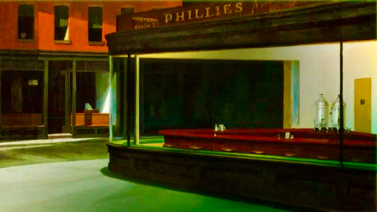After Edward Hopper: Themes of Solitude and Isolation